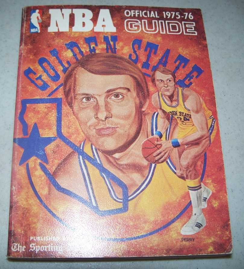 National Basketball Association (NBA) Official Guide for 1975-76, Curran, Nick (ed.)