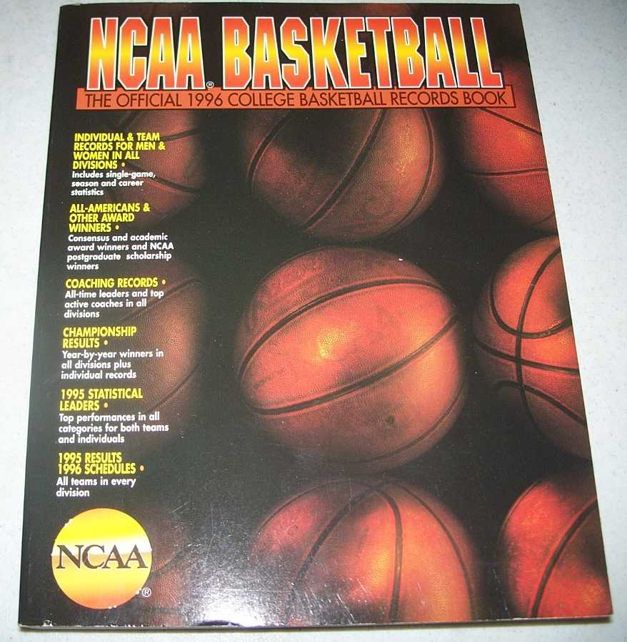NCAA Basketball: The Official 1996 College Basketball Records Book, N/A