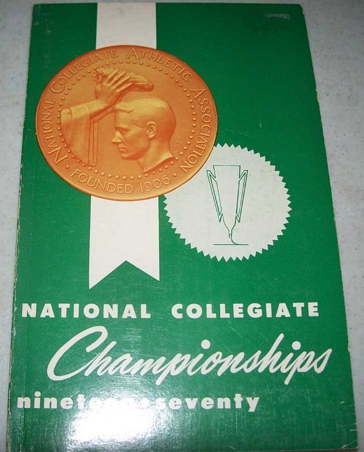 1970 National Collegiate Championships, N/A