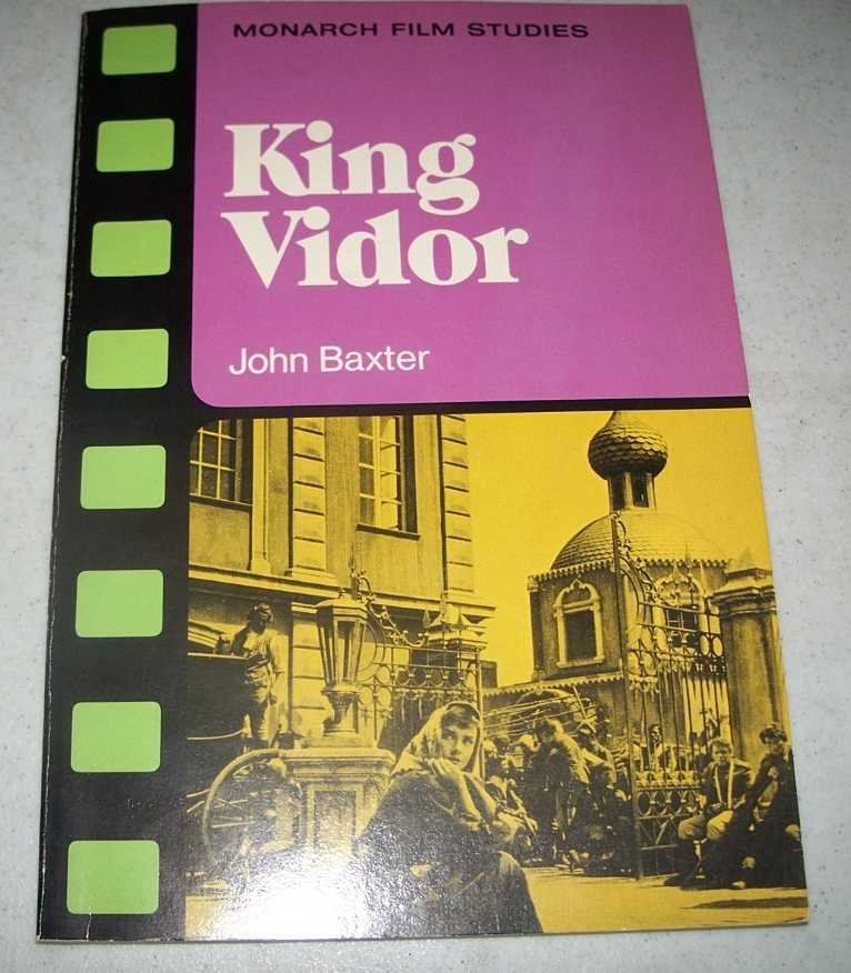 King Vidor (Monarch Film Studies), Baxter, John