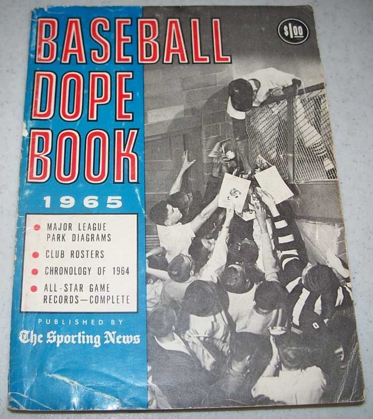 The Sporting News Baseball Dope Book 1965, Spink, C.C. Johnson; Rickart, Paul; Kachline, Clifford