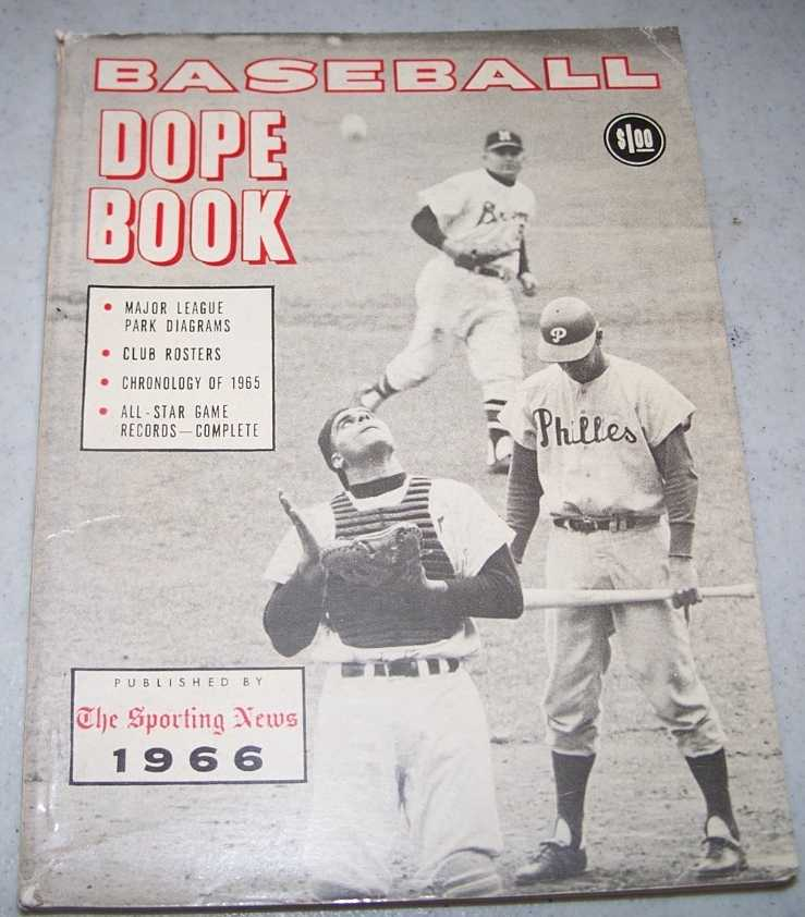 The Sporting News Baseball Dope Book 1966, Spink, C.C. Johnson; Kachline, Clifford; Roewe, Chris