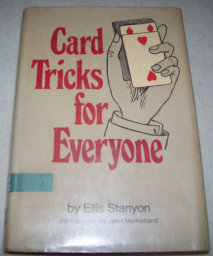 Card Tricks for Everyone, Stanyon, Ellis