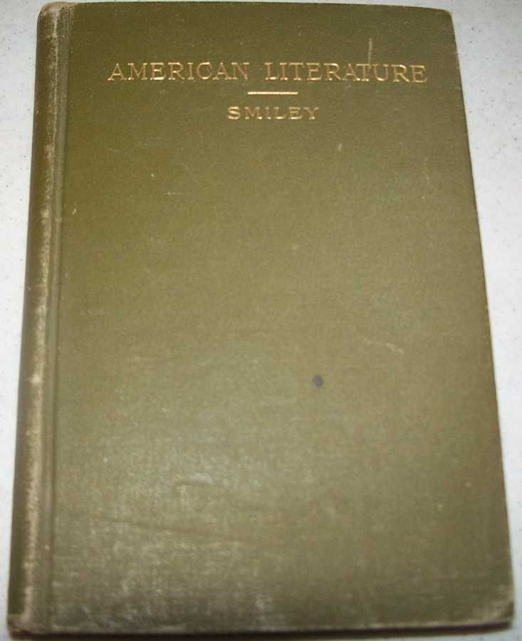 A Manual of American Literature, Smiley, James B.