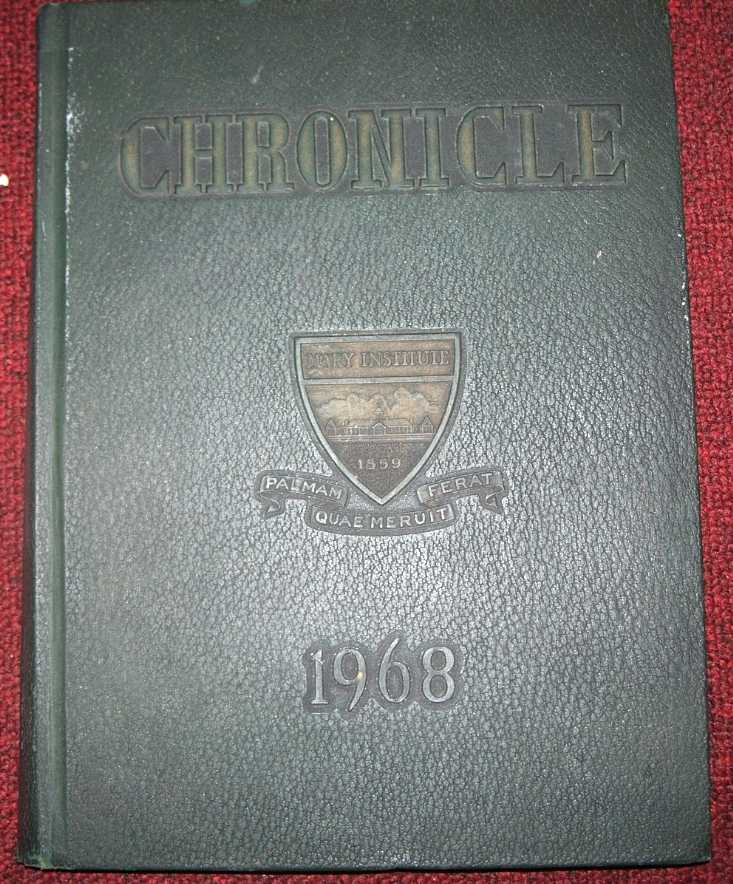 Mary Institute 1968 Yearbook: The Chronicle, N/A
