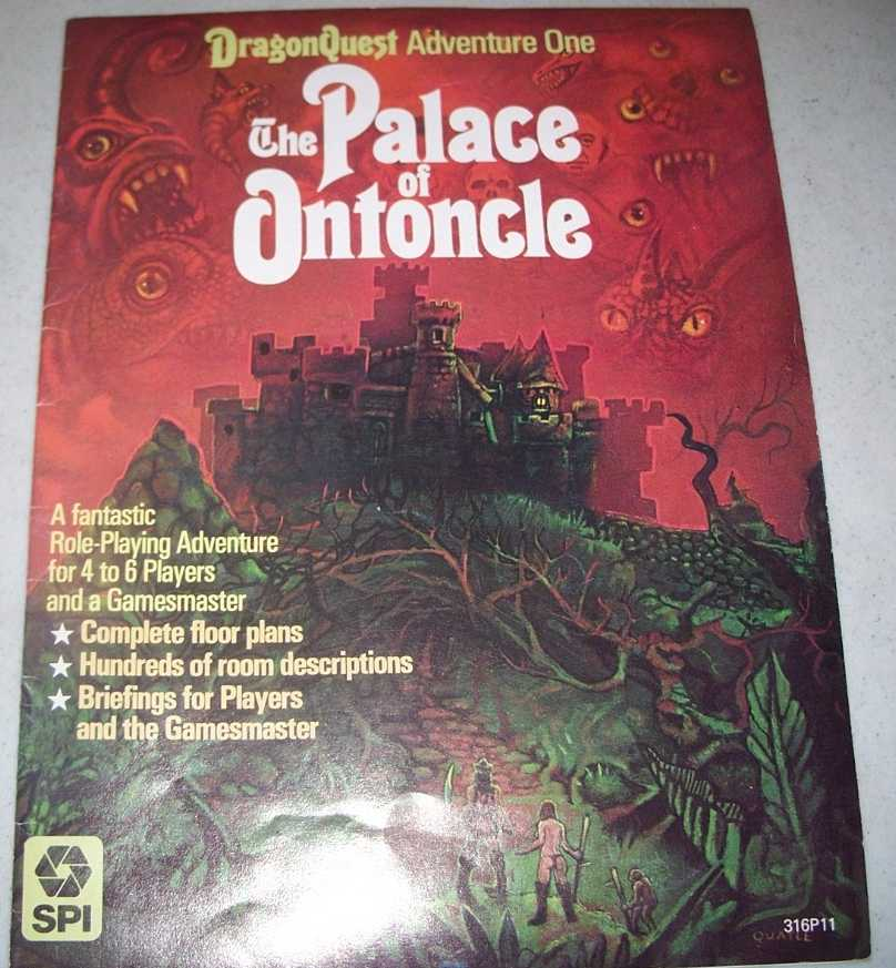 The Palace of Ontoncle: DragonQuest Adventure One, Herzig, Peter
