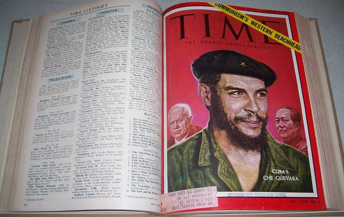 Time Magazine July-September 1960 Bound in One Volume, N/A
