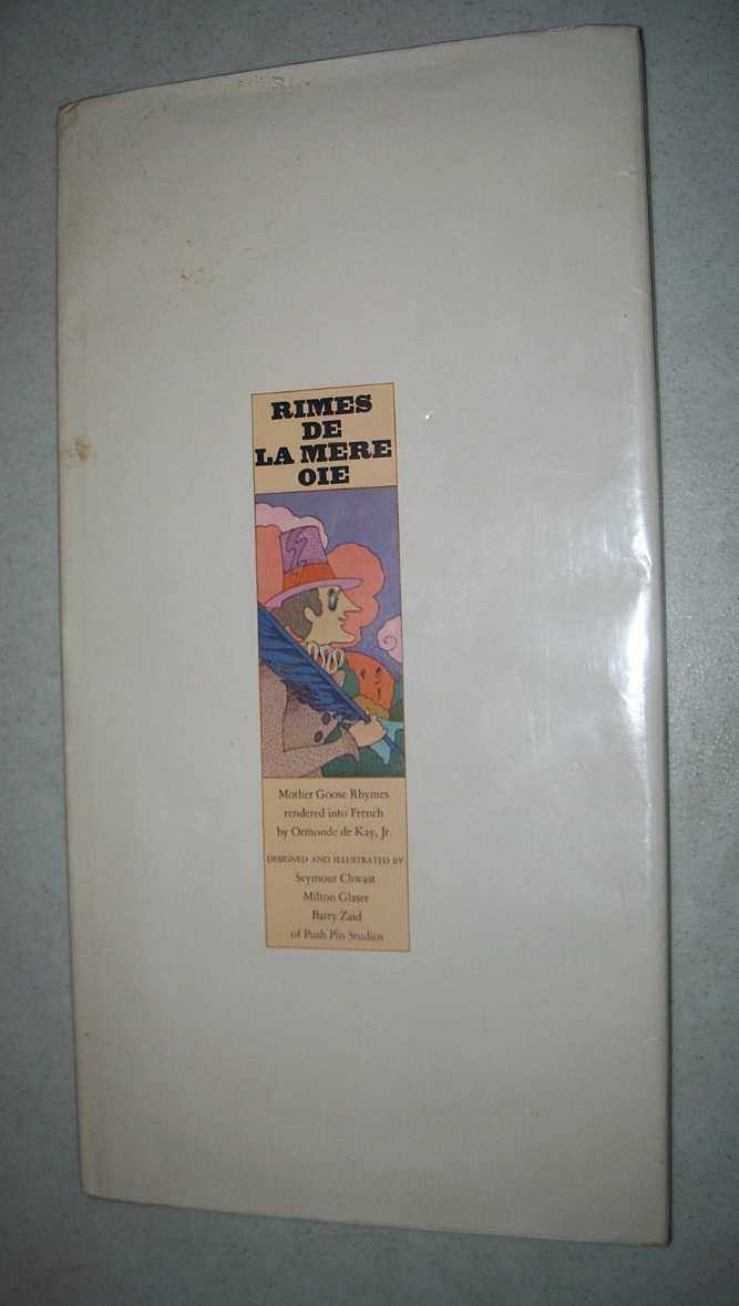 Rimes de la Mere Oie: Mother Goose Rhymes Rendered into French, de Kay, Ormonde jr.