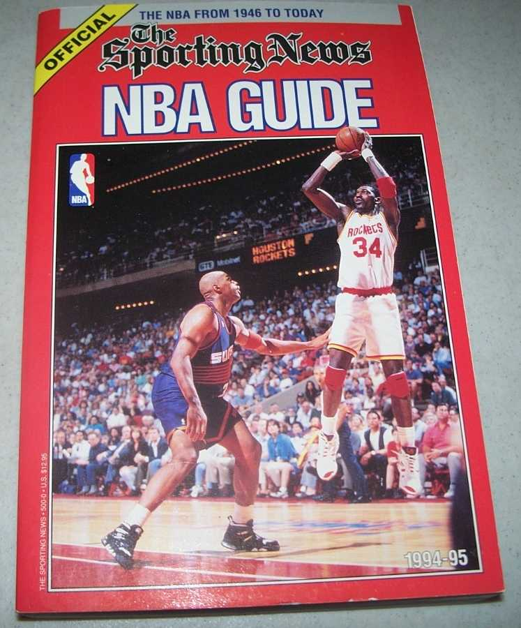 The Sporting News Official NBA Guide 1994-95 Edition, Carter, Craig and Sachare, Alex (ed.)