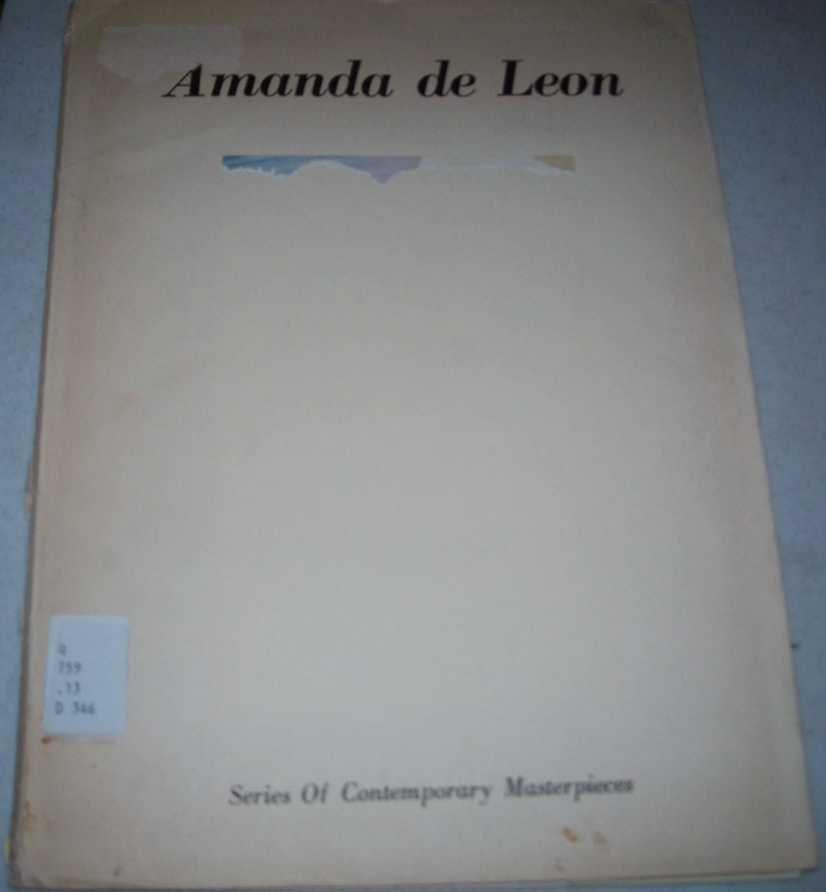 Amanda de Leon (Series of Contemporary Masterpieces), Osborne, Duncan P. (introduction)
