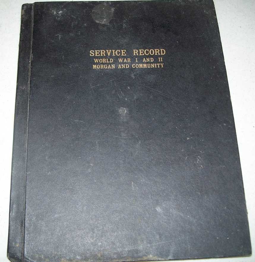 Service Record Book of Men and Women of Morgan, Minnesota and Community, N/A