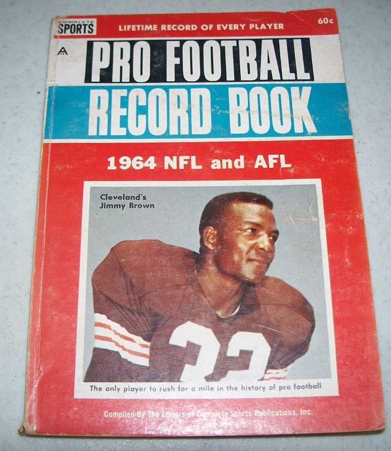 1964 NFL and AFL Pro Football Record Book, N/A