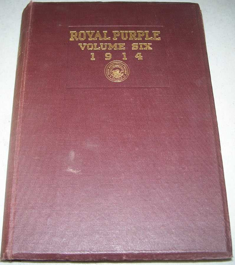 The Royal Purple: 1914 Yearbook of the Kansas Agricultural College (later Kansas State), N/A