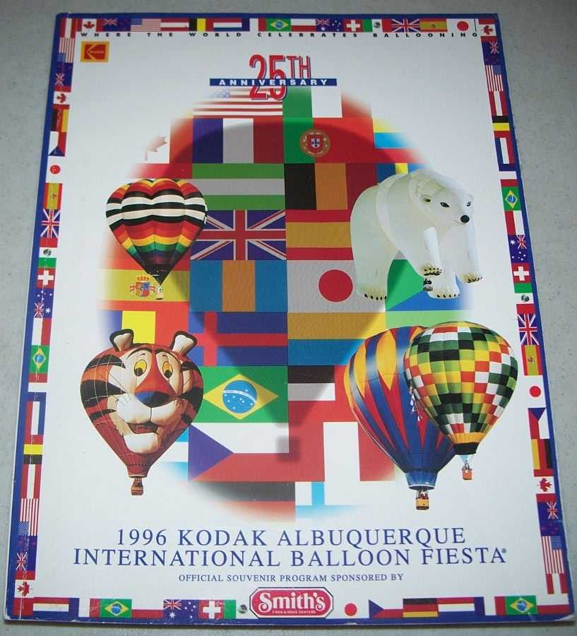 1996 Kodak Albuquerque International Balloon Fiesta Official Souvenir Program, N/A