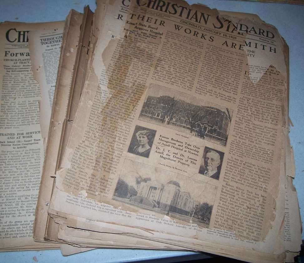 Christian Standard 48 Issues January-December 1925, Errett, Isaac (founder)