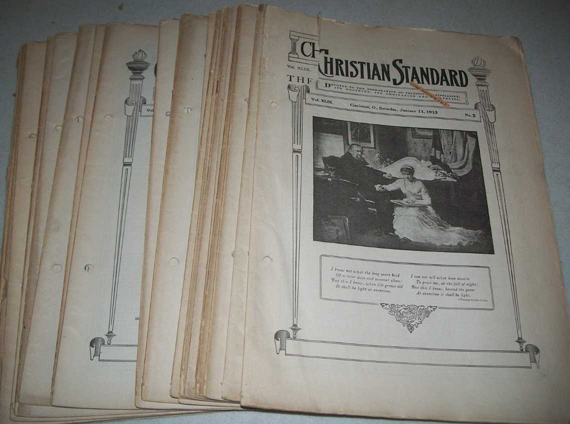Christian Standard 23 Issues from 1913, Errett, Isaac (founder)