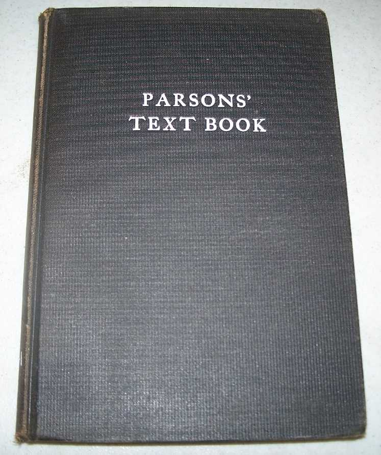 Parson' Text Book, Parsons, A.H.