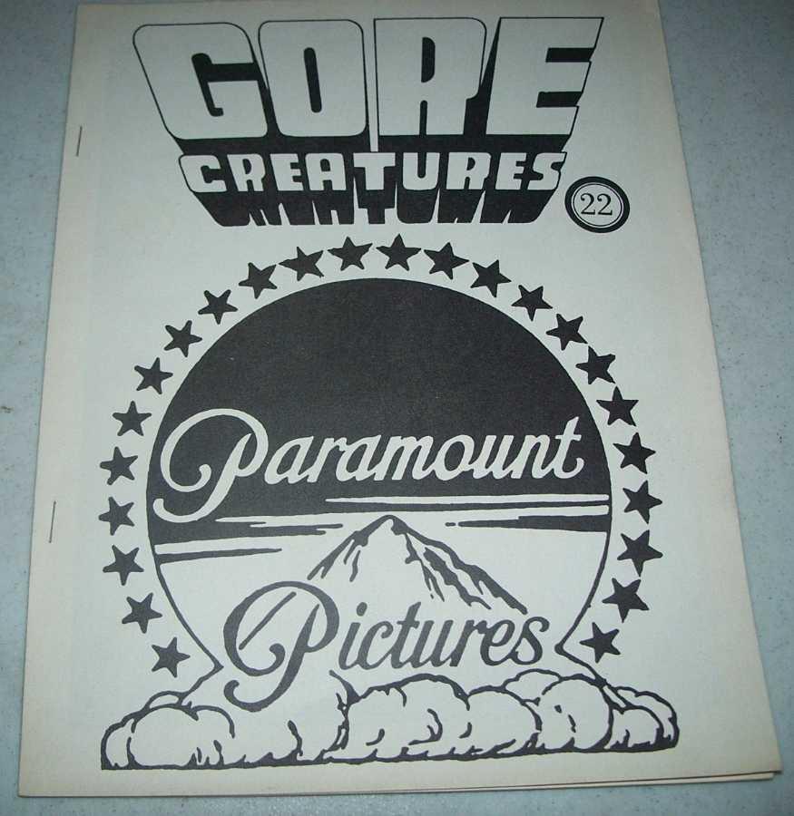 Gore Creatures #22, Svehla, Gary J. (ed.)