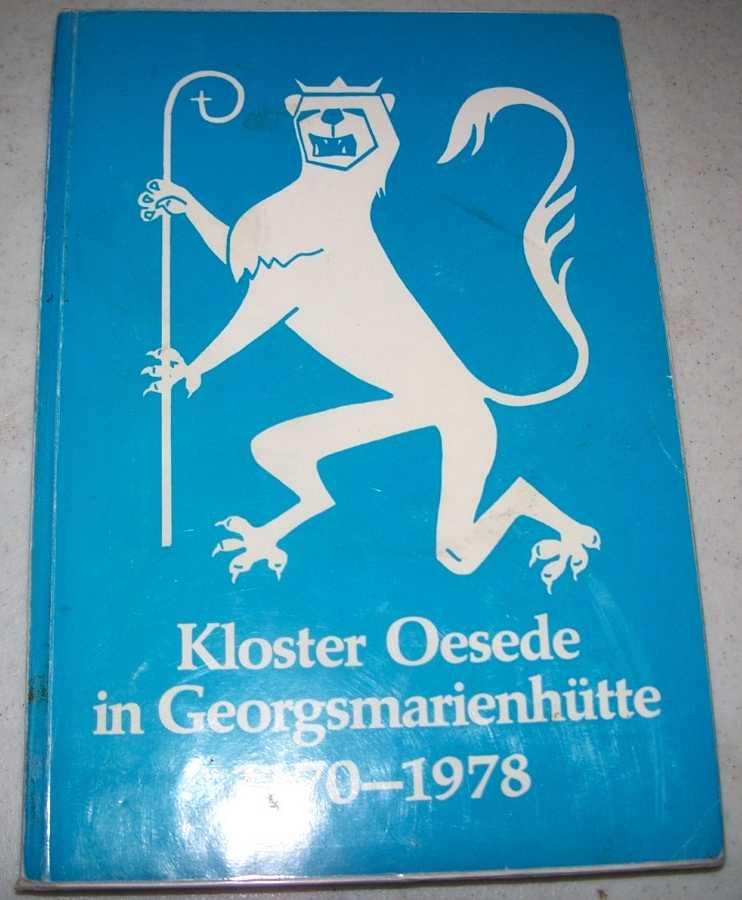 Kloster Oesede in Georgsmarienhutte seine Heilsgeschichte seine Christliche Kunst und Umweltgestaltung, Otten, Pfarrer Hermann
