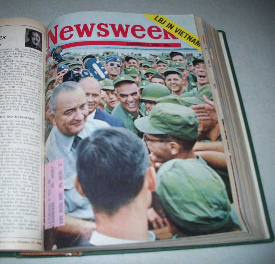 Newsweek Magazine Bound Volume 68, October-December 1966, N/A