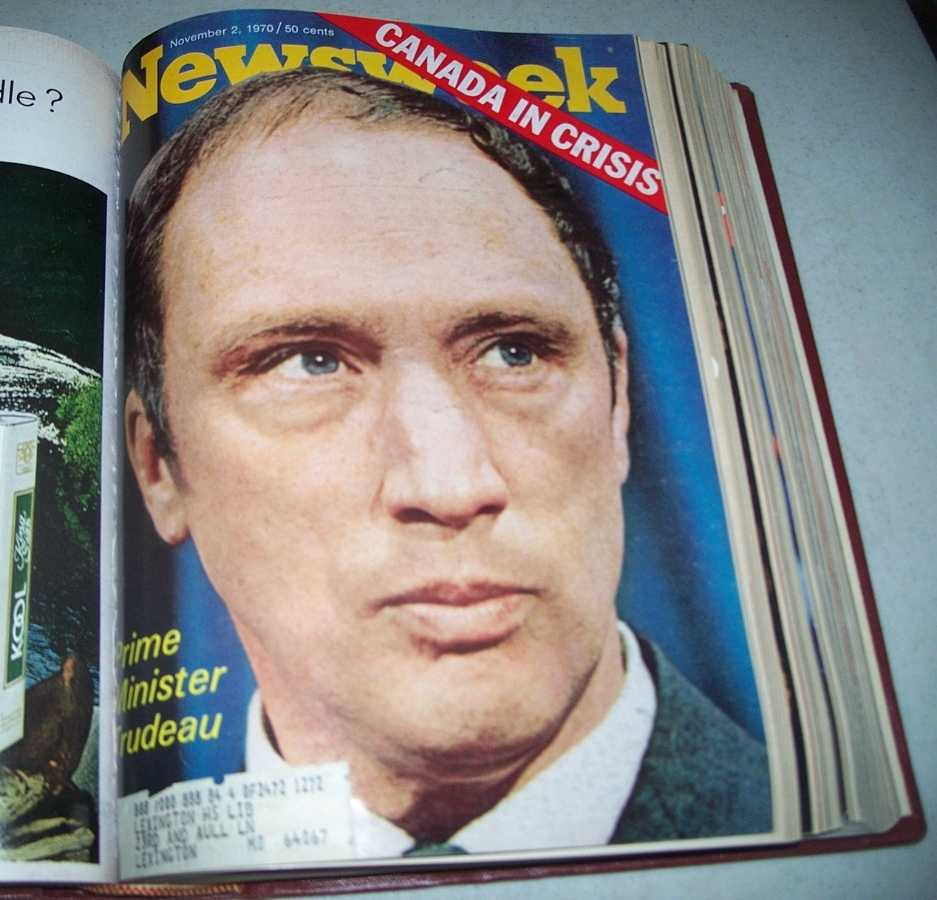 Newsweek Magazine Bound Volume 76, October-December 1970, N/A