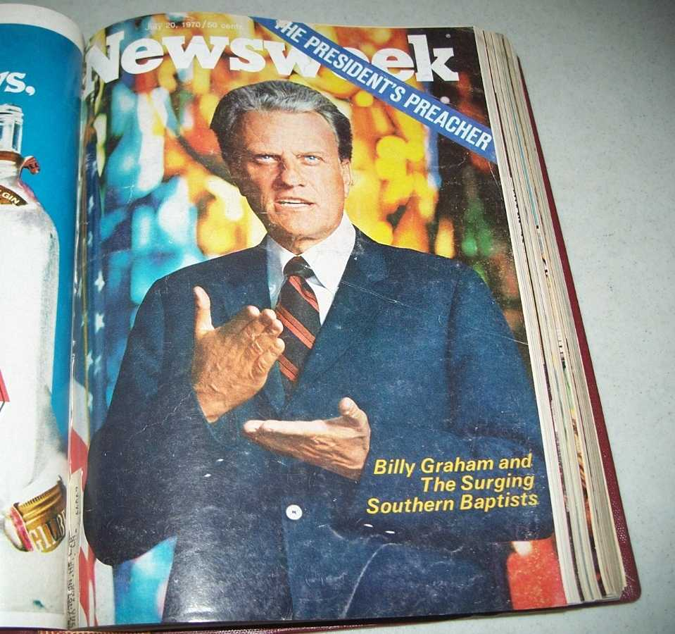 Newsweek Magazine Bound Volume 76, July-September 1970, N/A