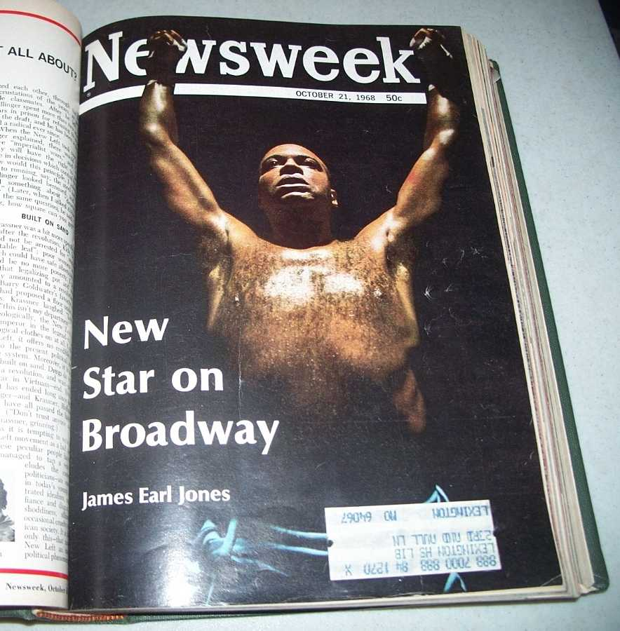 Newsweek Magazine Bound Volume 72, October-December 1968, N/A