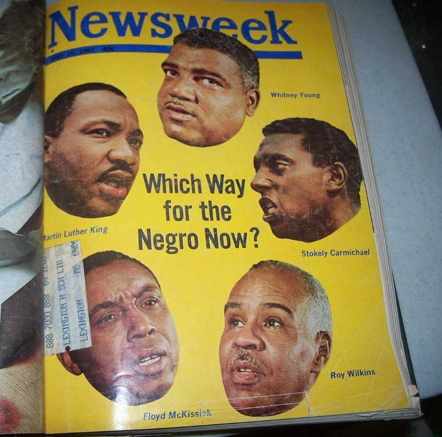 Newsweek Magazine Bound Volume 69, May-August 1967, N/A