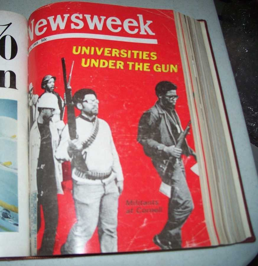 Newsweek Magazine Bound Volume 73, April-June 1969, N/A