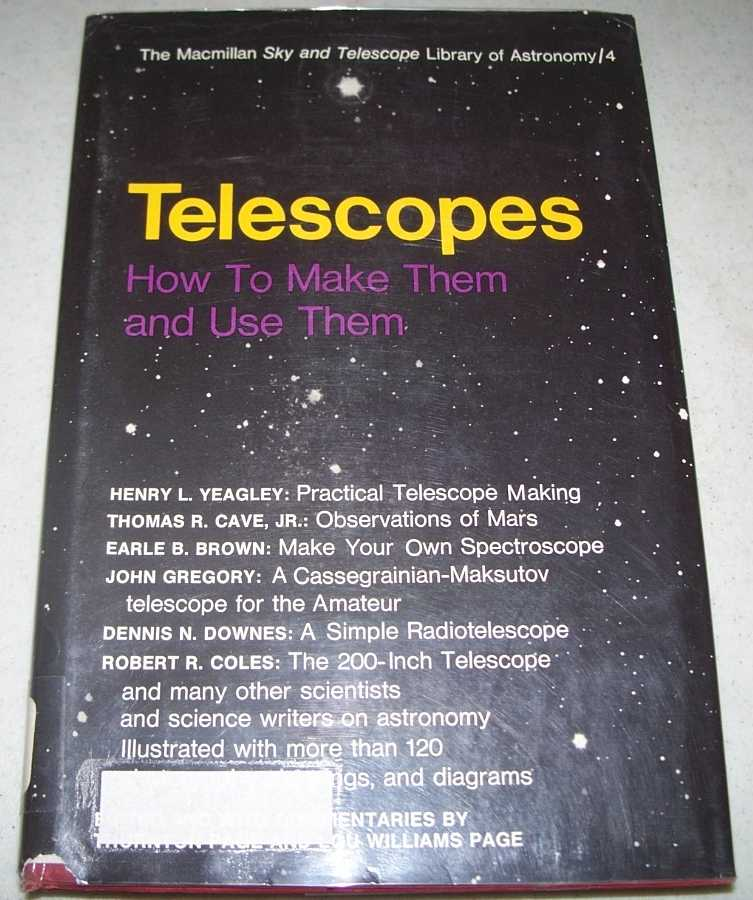 Telescopes: How to Make Them and Use Them, Page, Thornton and Page, Lou Williams