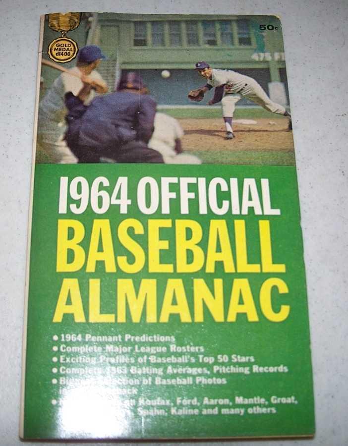 1964 Official Baseball Almanac, Wise, Bill (ed.)