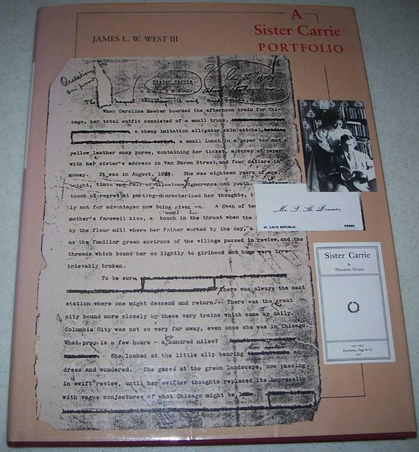 A Sister Carrie Portfolio, West, James L.W. III