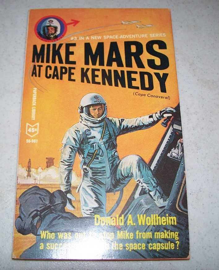 Mike Mars at Cape Kennedy (Cape Canaveral) #3, Wollheim, Donald A.
