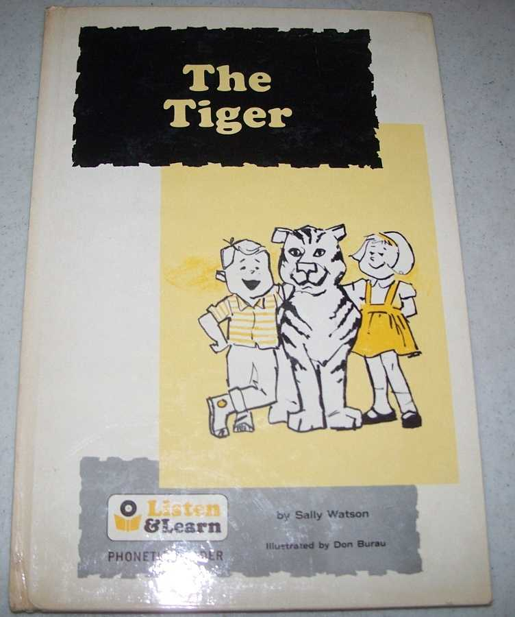 The Tiger (Listen and Learn Phonetic Reader), Watson, Sally