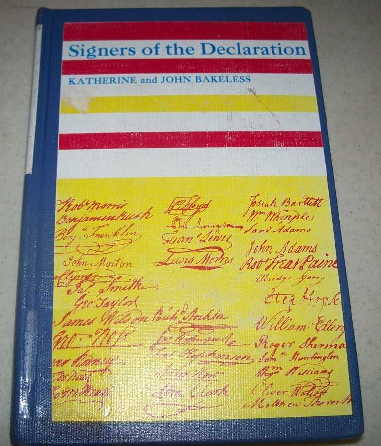Signers of the Declaration, Bakeless, John and Katherine