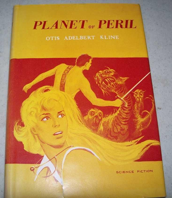 Planet of Peril, Kline, Otis Adelbert