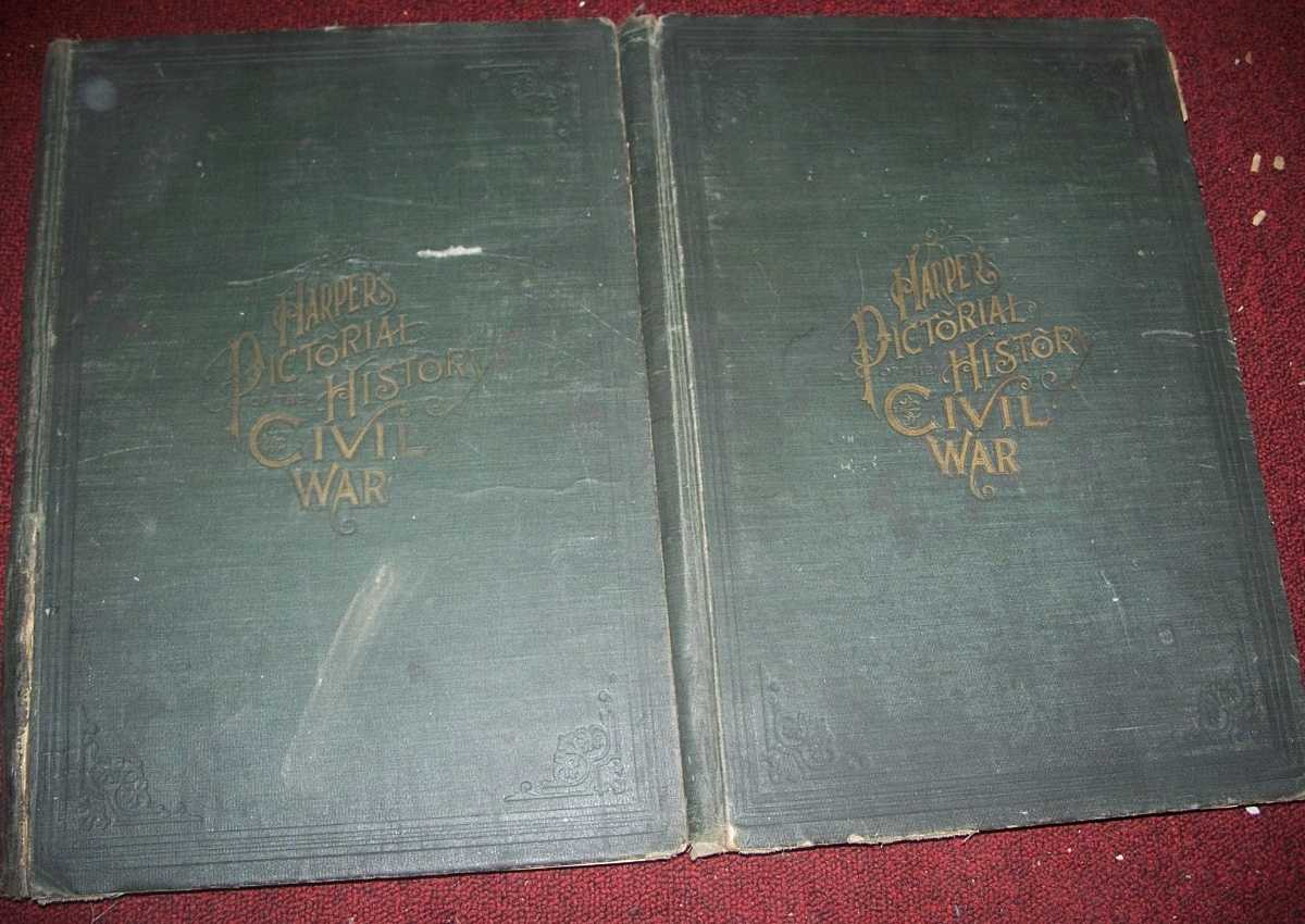 Harper's Pictorial History of the Civil War in Two Volumes (2 book set), N/A