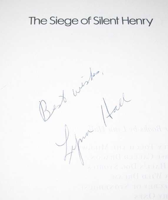 The Siege of Silent Henry, Hall, Lynn