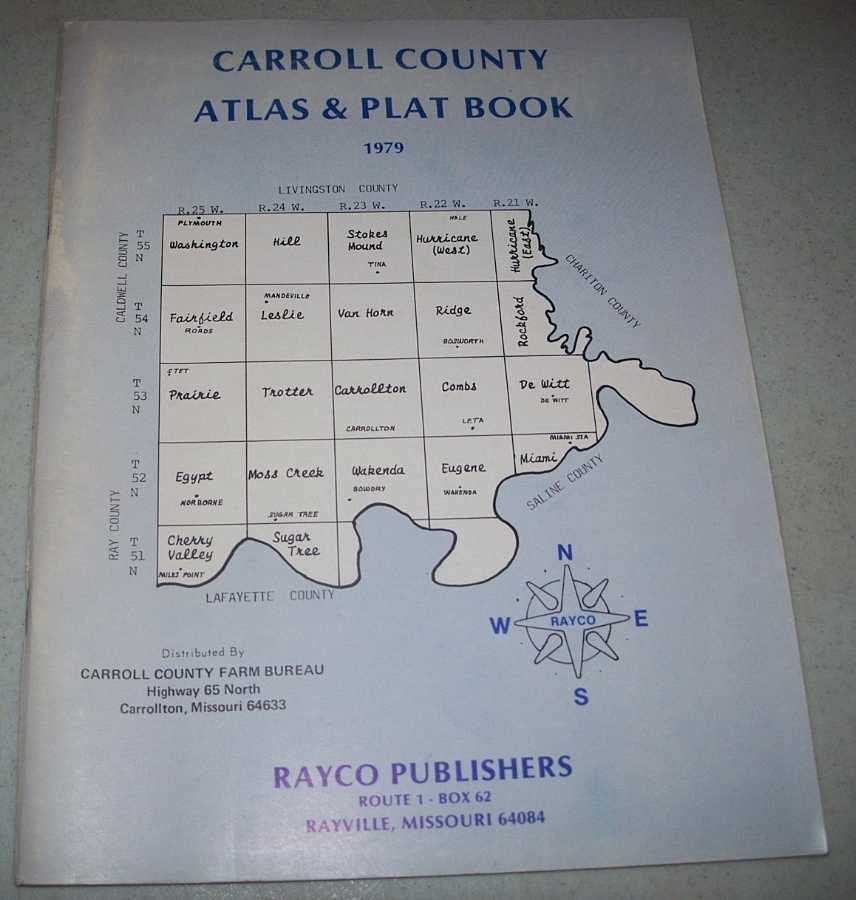 Carroll County (Missouri) Atlas & Plat Book 1979, N/A