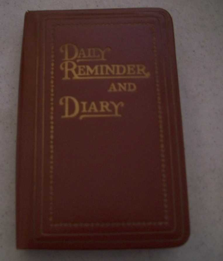 1965 Diary Reminder and Diary (unused), N/A