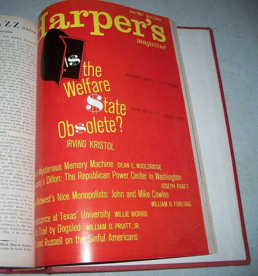 Harper's Magazine Volume 226,  January-June 1963, Bound in One Volume, N/A