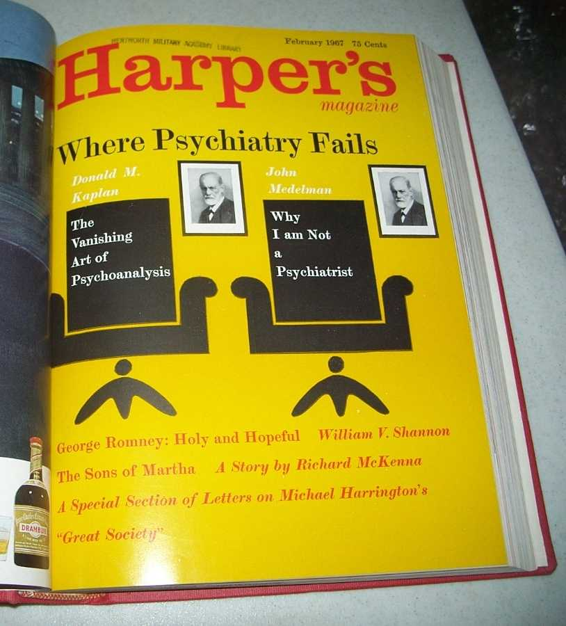 Harper's Magazine Volume 234, January-June 1967 Bound in One Volume, N/A