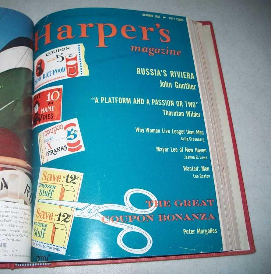 Harper's Magazine Volume 215, July-December 1957 Bound in One Volume, N/A