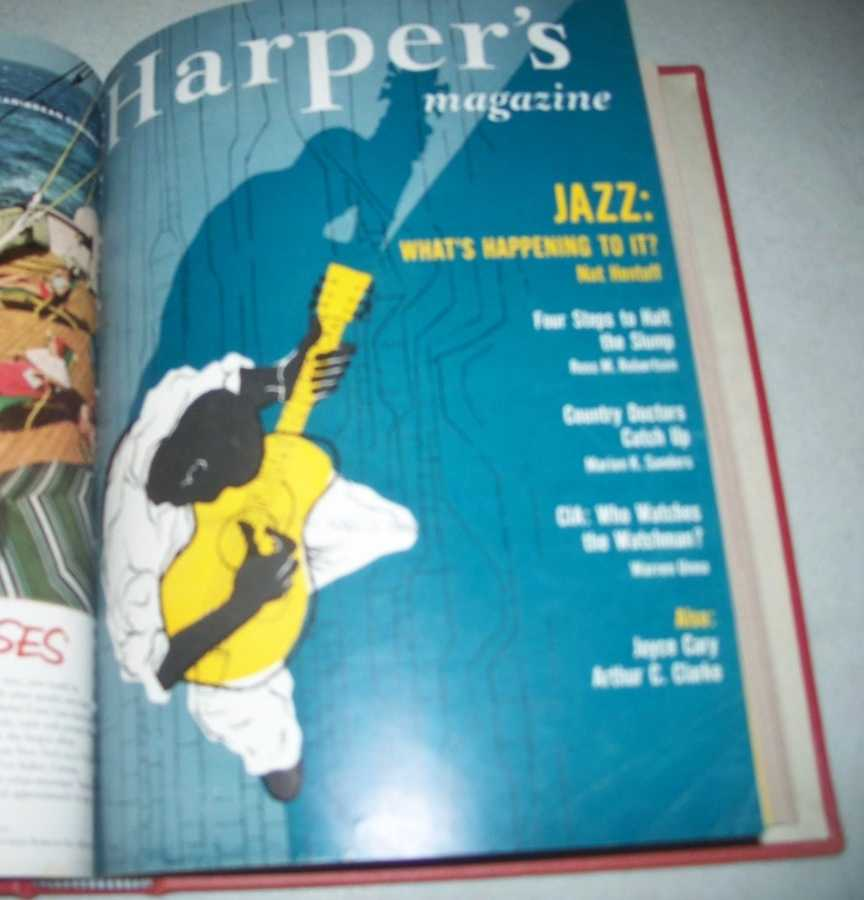 Harper's Magazine Volume 216, January-June 1958 Bound in One Volume, N/A