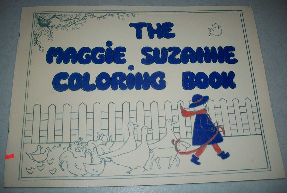 The Maggie Suzanne Coloring Book, Goss, Marilyn