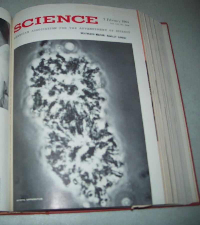 Science (Magazine) Volume 143, January-March 1964 Bound Together, N/A