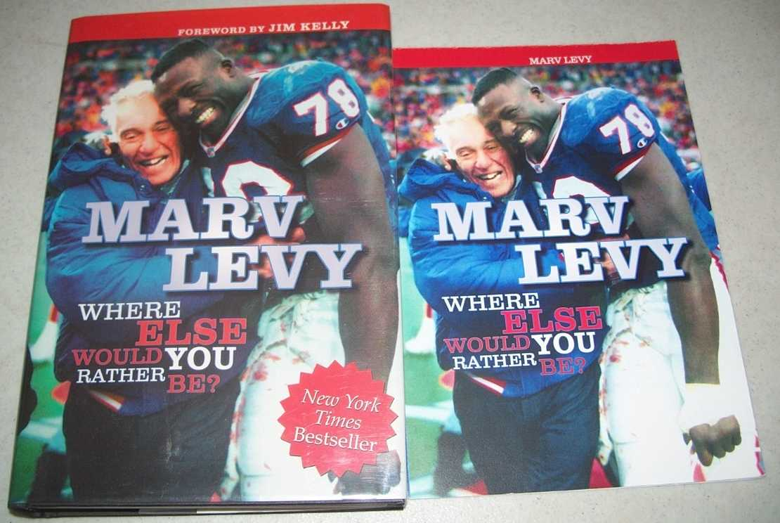 Where Else Would You Rather Be?, Levy, Marv