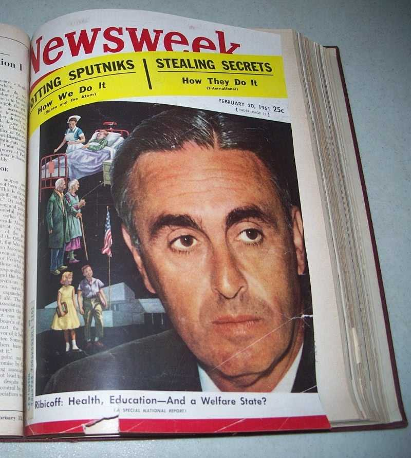 Newsweek Magazine Volume 57, January-March 1961 bound together, N/A