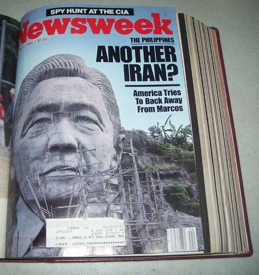 Newsweek Magazine Volume 106, October-December 1985 bound together, N/A