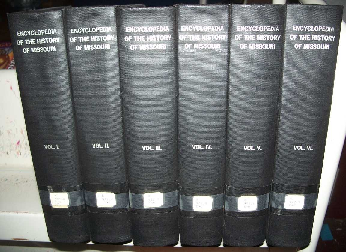Encyclopedia of the History of Missouri: A Compendium of History and Biography for Ready Reference in Six Volumes (6 Book Set), Conard, Howard L. (ed.)